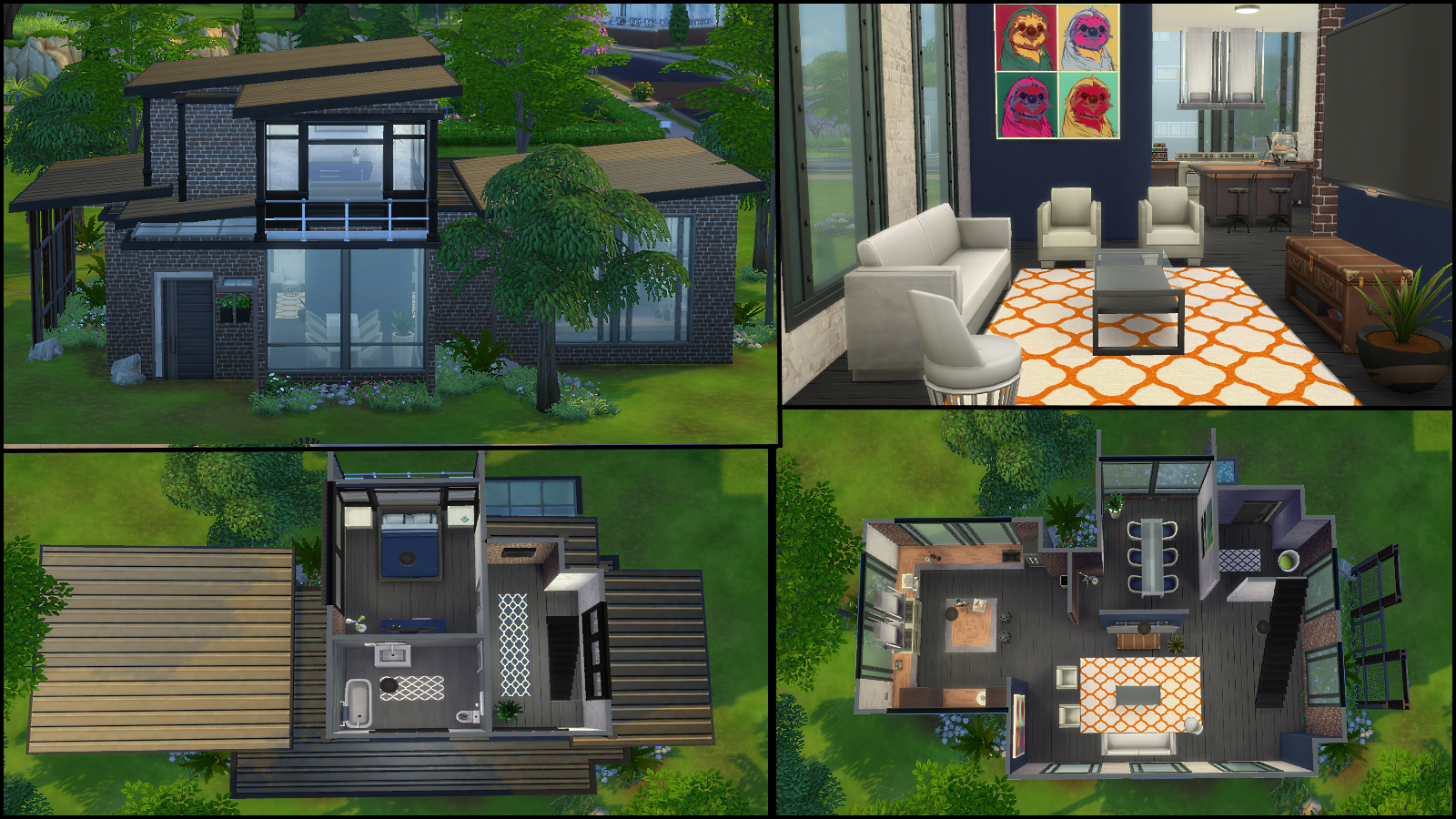 2 industrial house by samibenaddou5021 68796 - Sims 4 Home Design 2