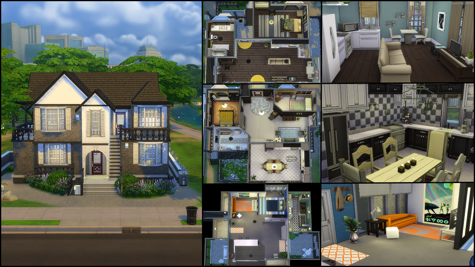 The sims 4 gallery spotlight simsvip for Appartement design sims 3