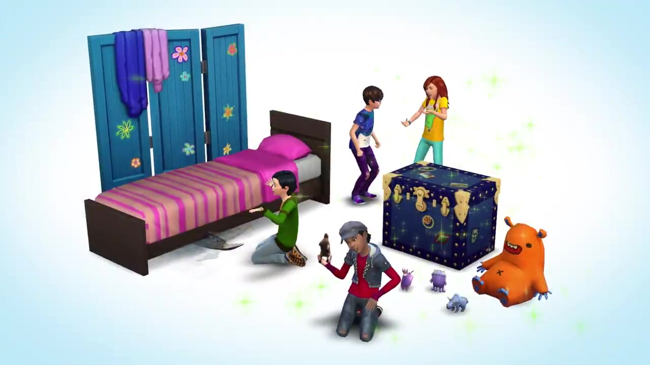 The Sims 4 Kids Room Stuff Listed On Esrb Website