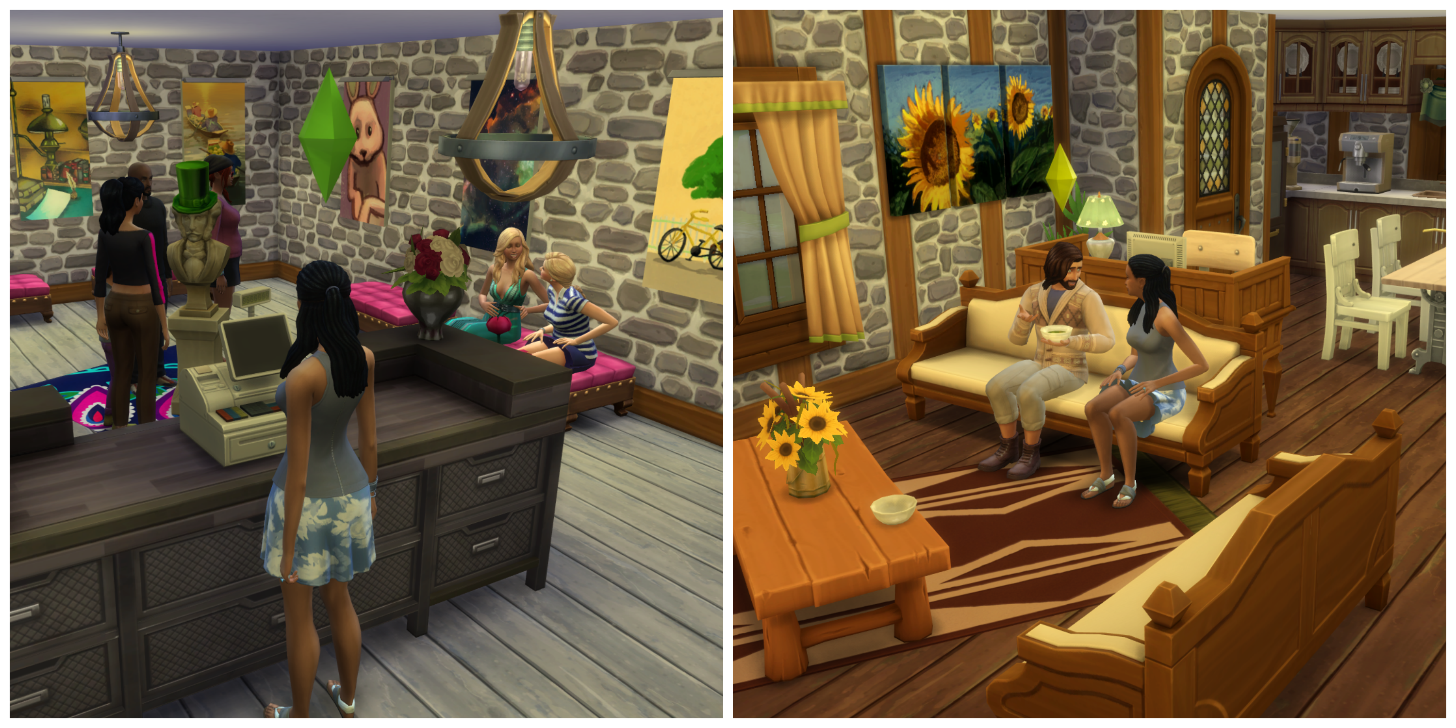 The Sims 4: Retail and Residential Living | SimsVIP