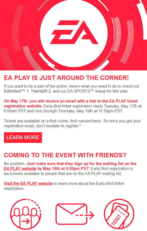 EA Play Early Bird