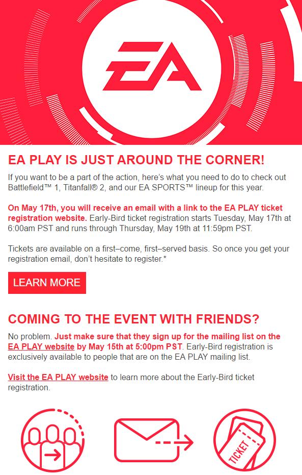 EA Play Early Bird
