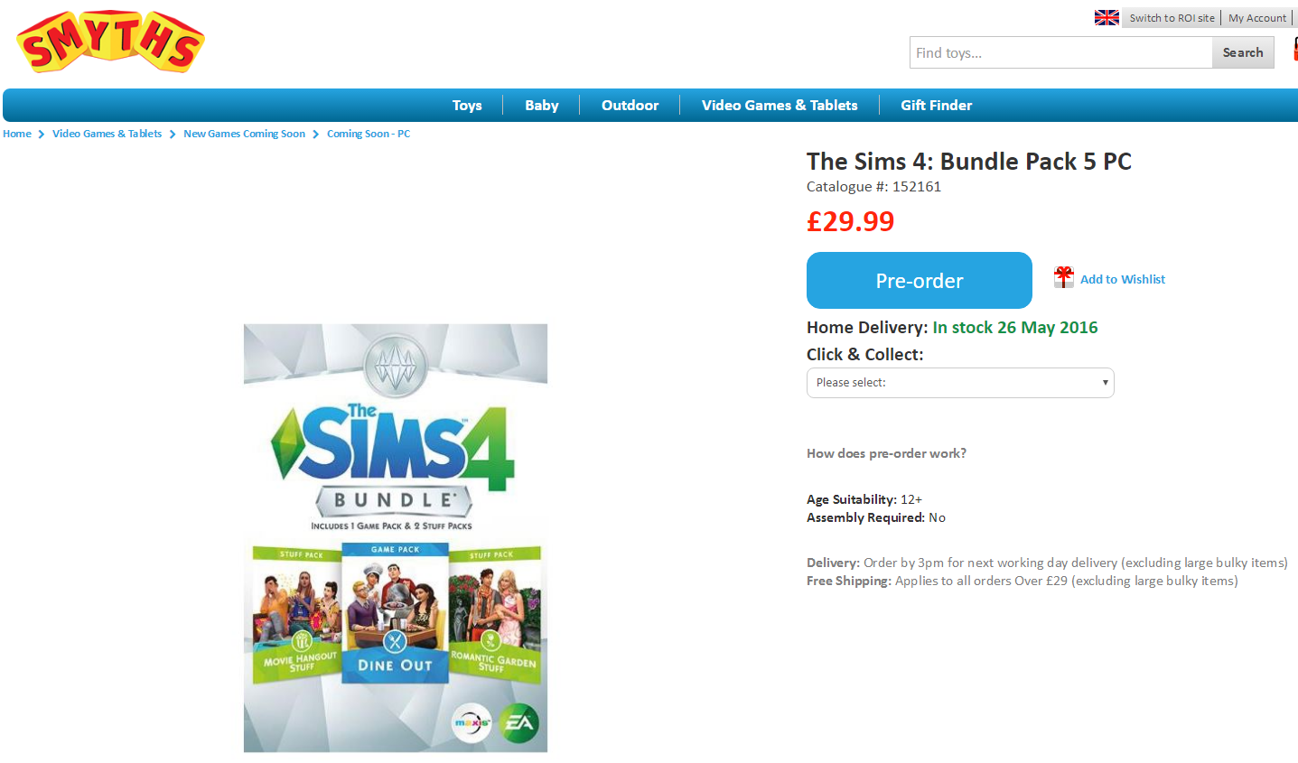 Sims 4 Dine Out Game Pack