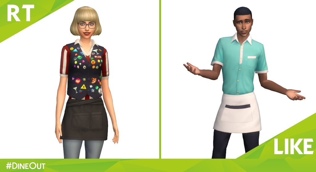 Sims 4 Dine Out This That