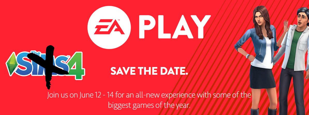 Sims 4 EA Play E3 2016