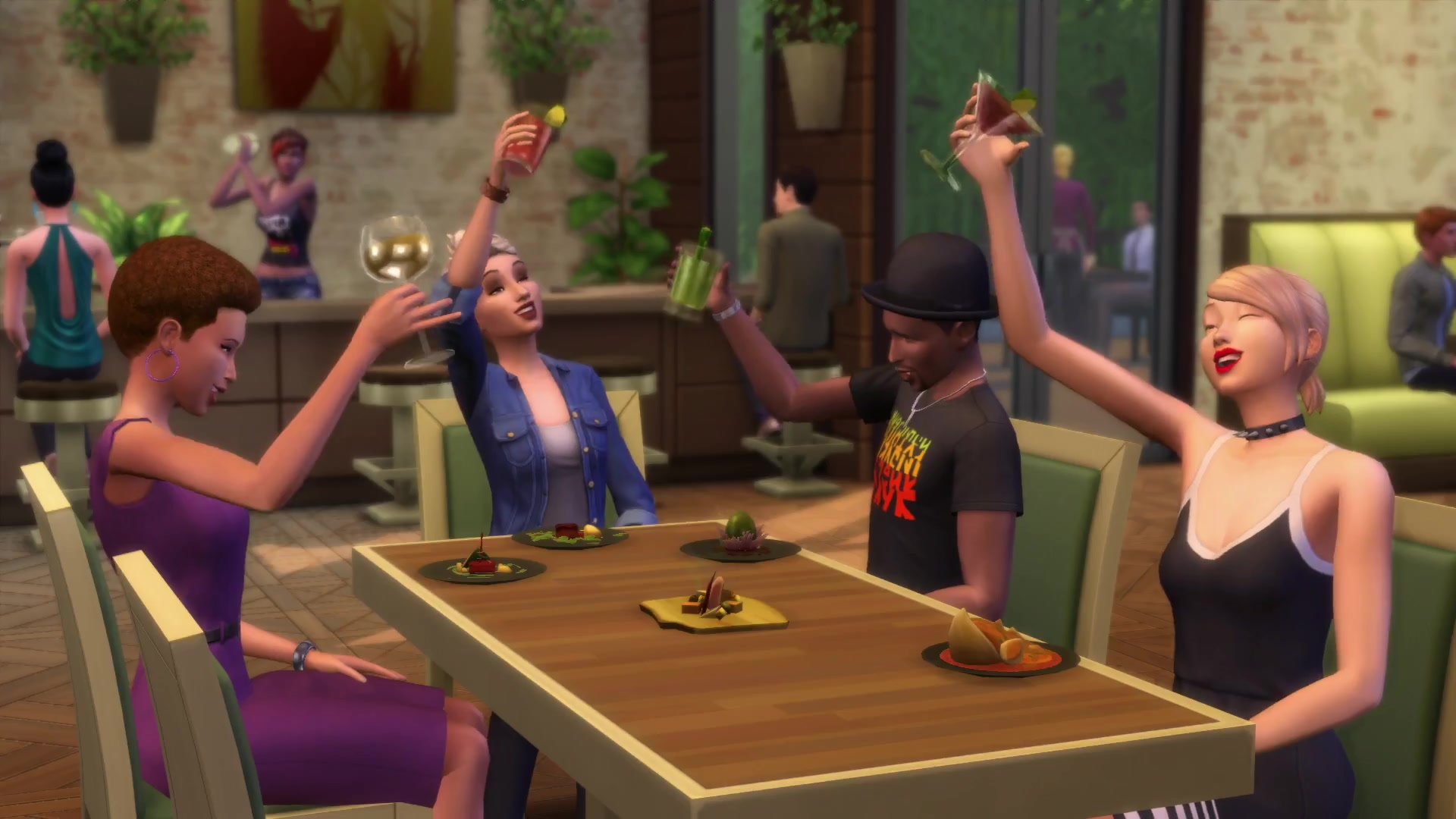 The Sims 3 Showtime Expansion Pack Live the rags to riches story with your Sims as a singer, acrobat, magician and moonlight as a DJ. New optional features allow you to share these experiences with your friends through in-game news feeds, messaging, and live updates.