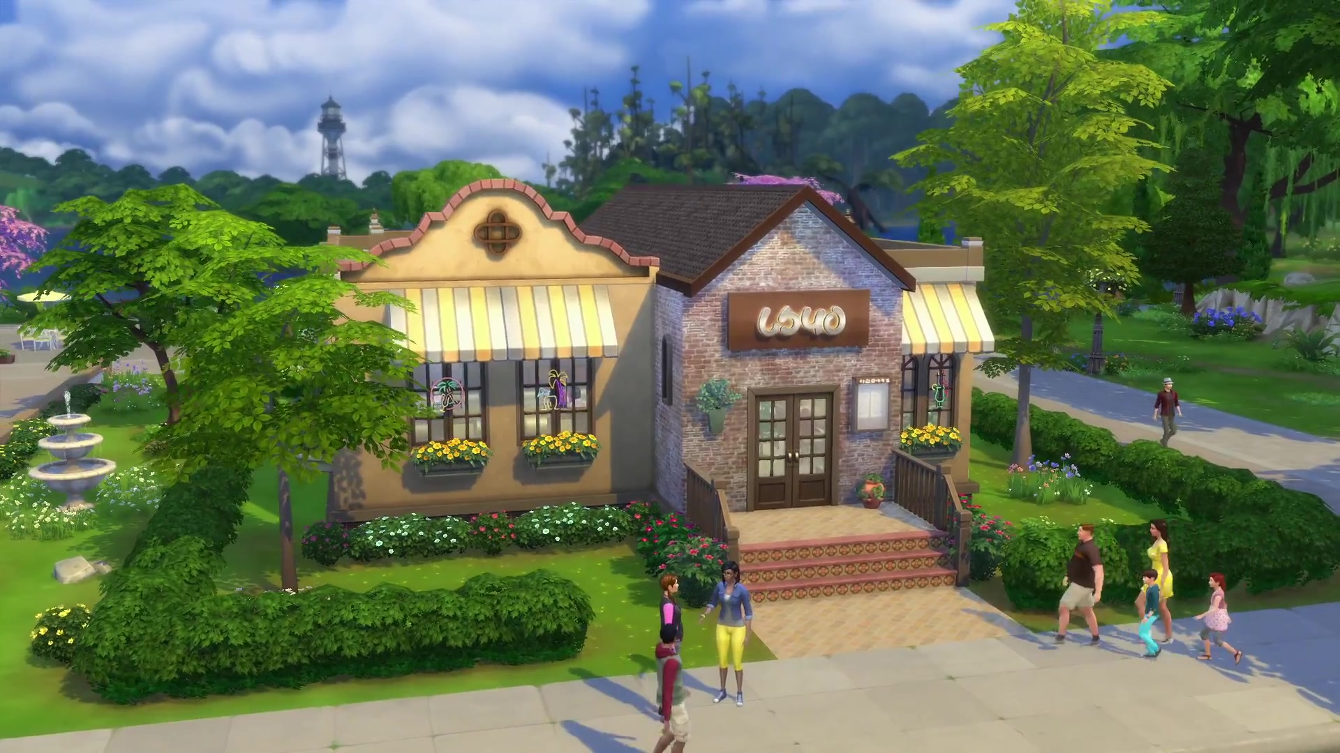 The Sims 4 Dine Out Own Restaurants Official Play Trailer 0425