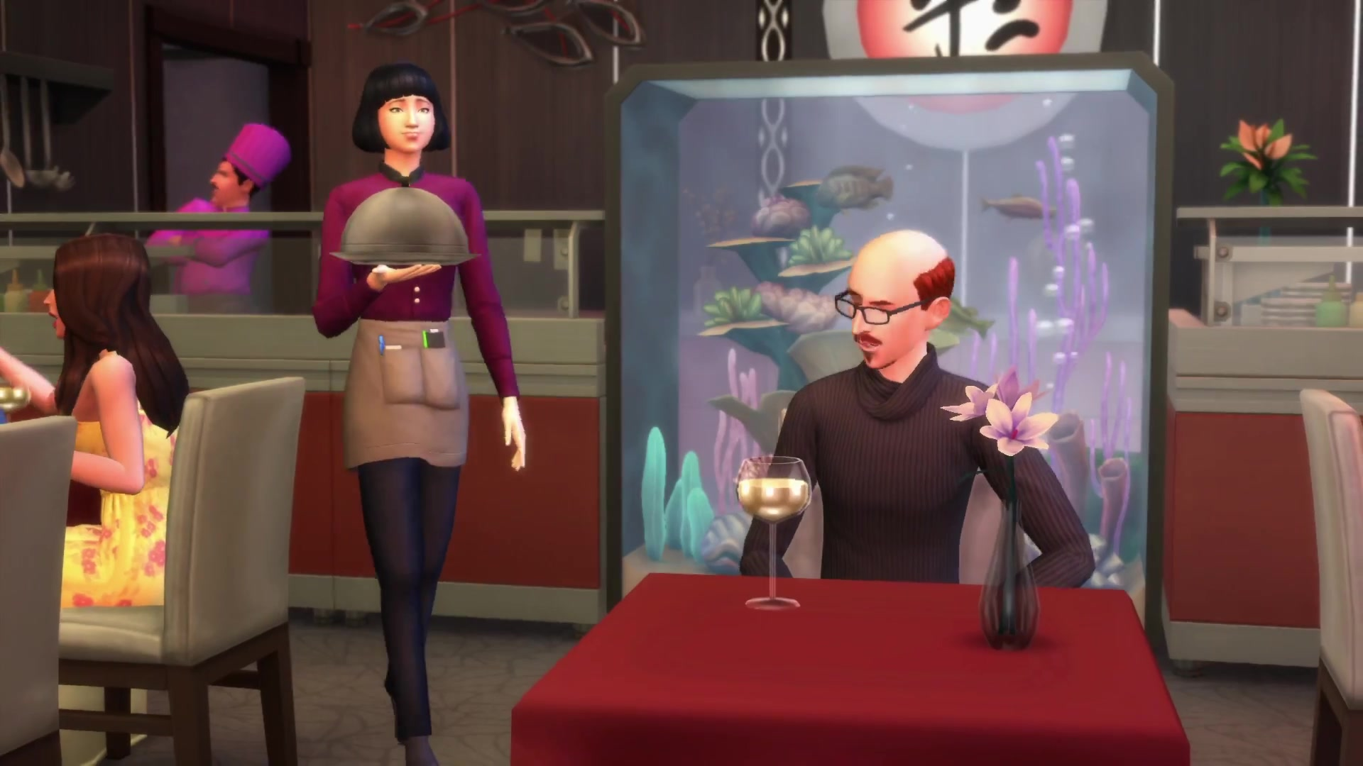 The Sims 4 Dine Out Own Restaurants Official Play Trailer 4109