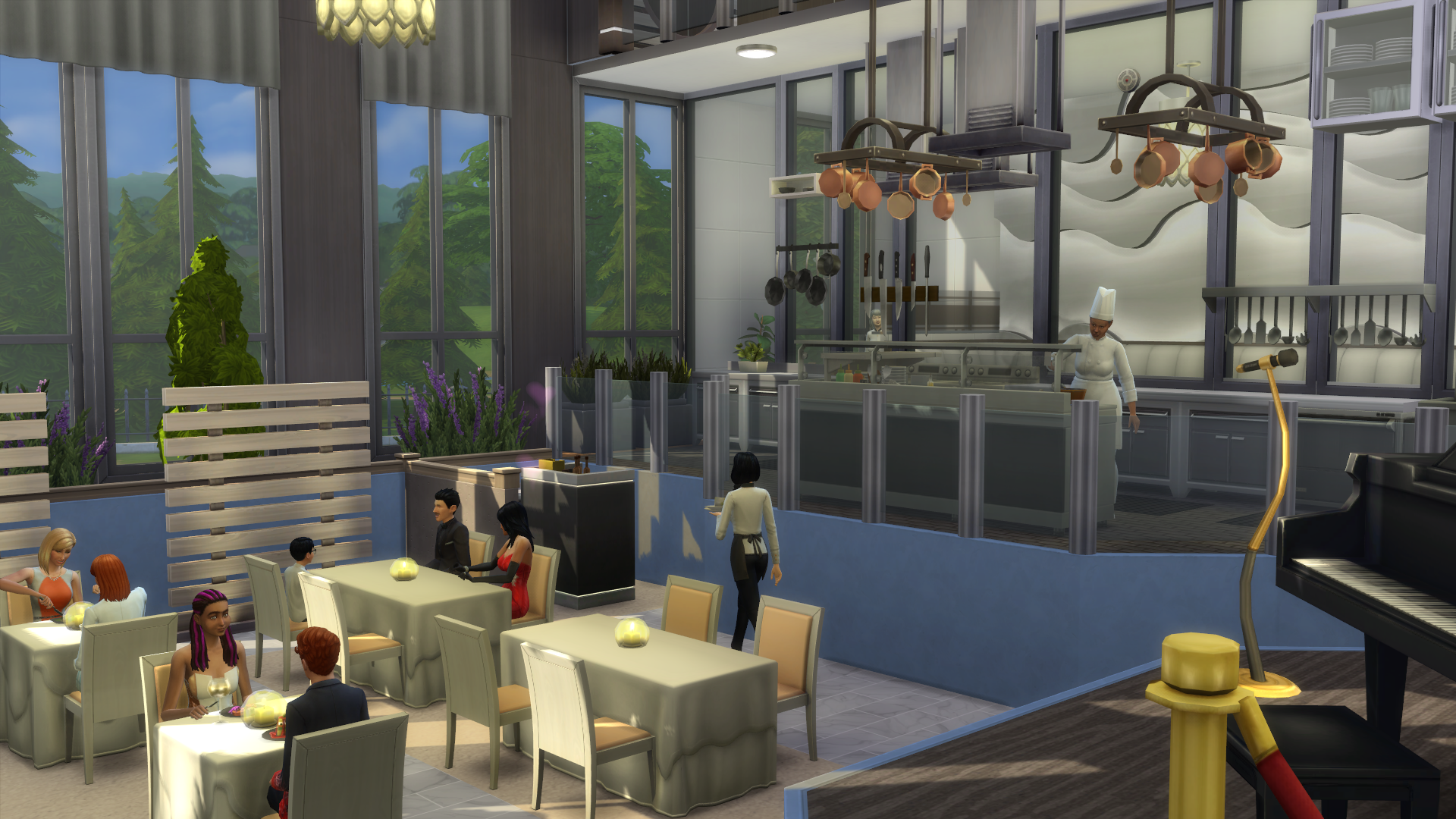 The sims dine out review simsvip
