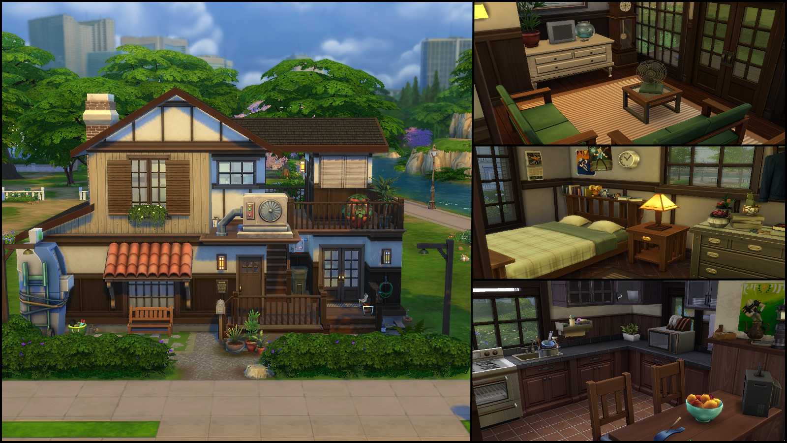 Sims 4 Greenhouse Room