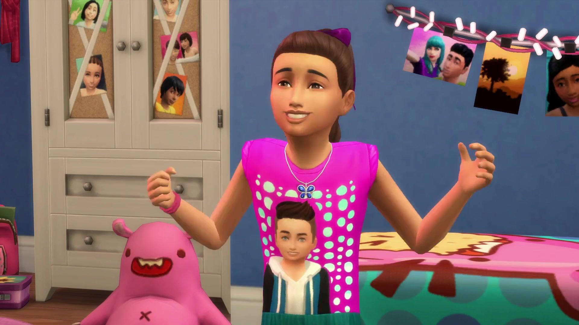 The Sims 4 Kids Room Stuff: 50 Trailer Screens
