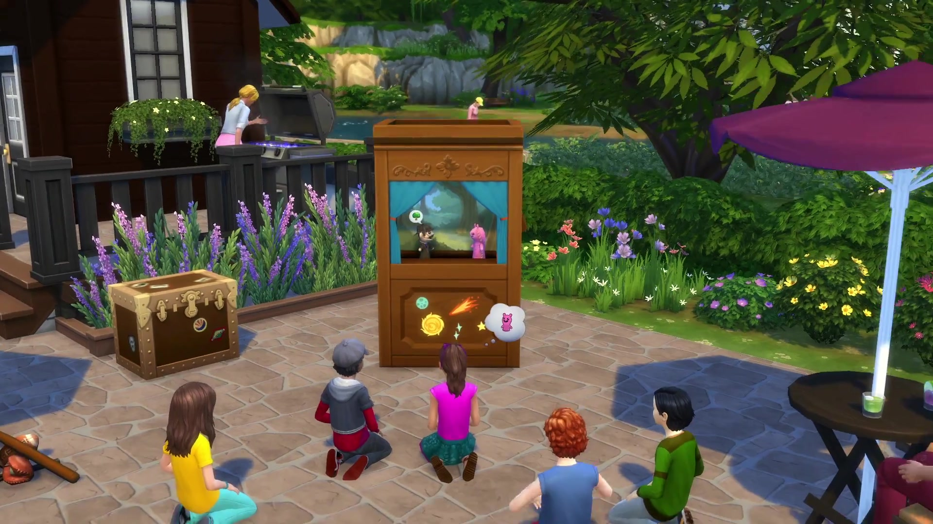 the sims 4 kids room stuff 50 trailer screens simsvip