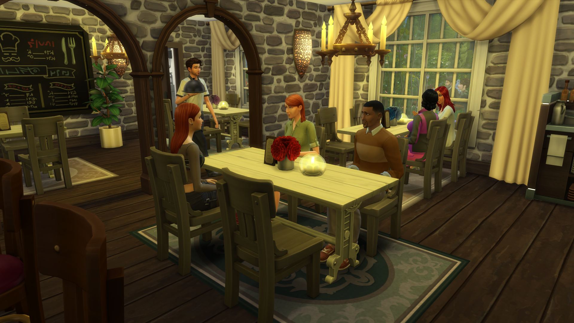 The sims dine out building ideas simsvip