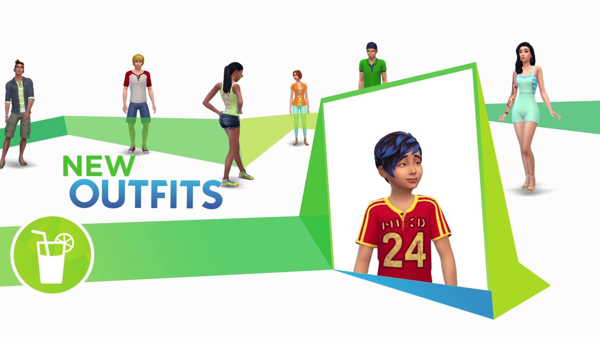 The Sims 4 Backyard Stuff- Official Trailer 1646