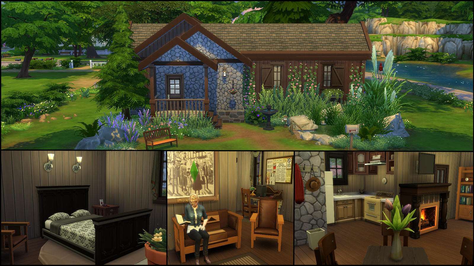 Cabin In The Woods Floor Plans