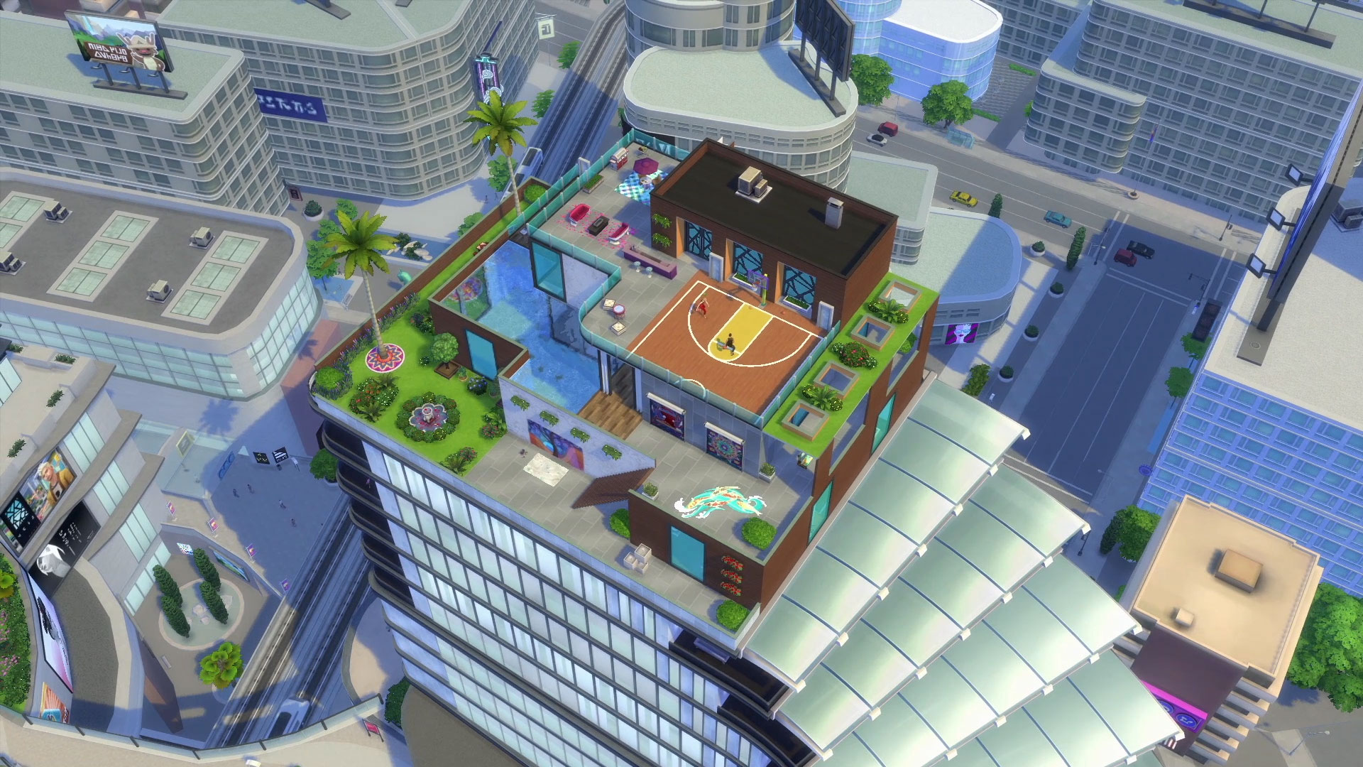 Official Blog Check Out Penthouses In The Sims 4 City Living Simsvip