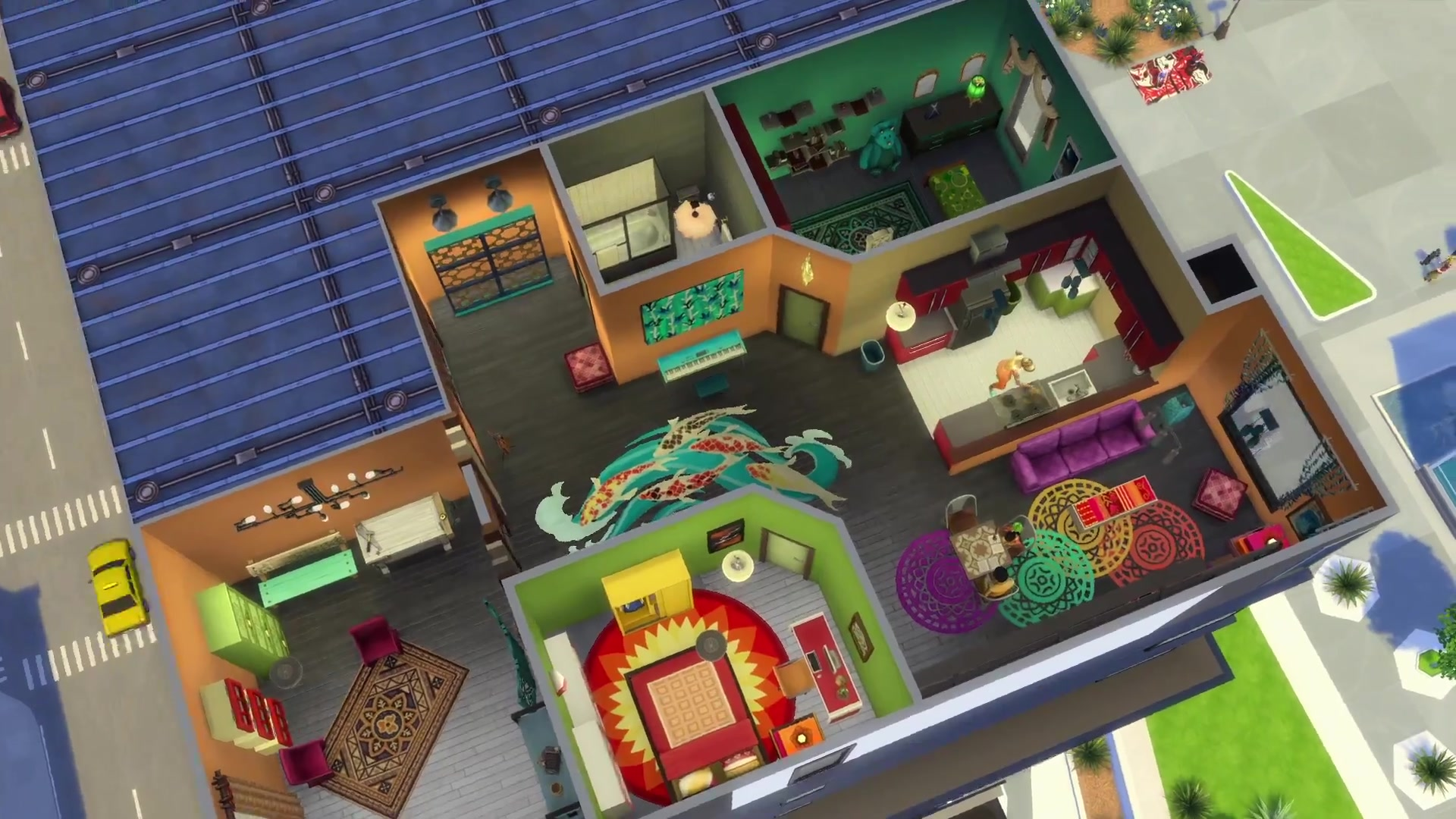 The Sims 4 City Living Official Apartments Trailer 0477