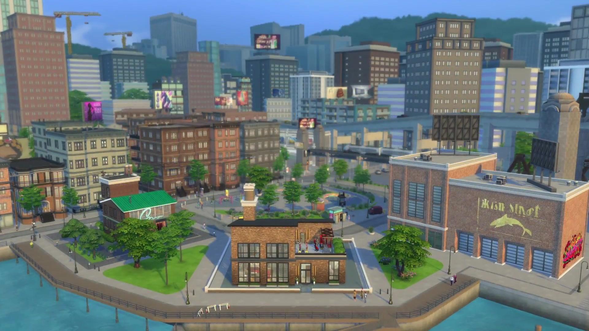 Gambar terkait dari Game The Sims 4 City Living