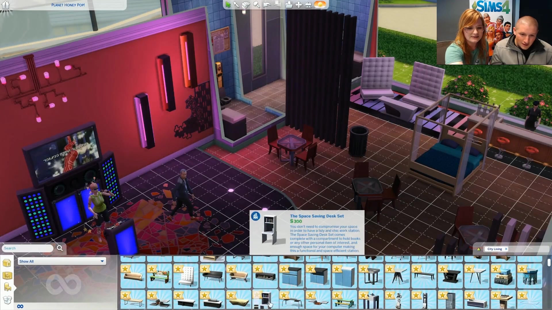 The Sims 4 City Living: 740+ Live Stream Screens | SimsVIP