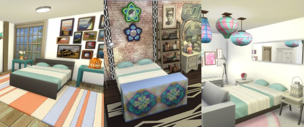 Top tips for designing a stylish bedroom in the sims 4 for Sims 3 master bedroom ideas