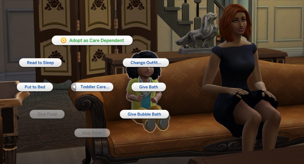 The sims 4 toddler patch overview simsvip care dependent ccuart Choice Image