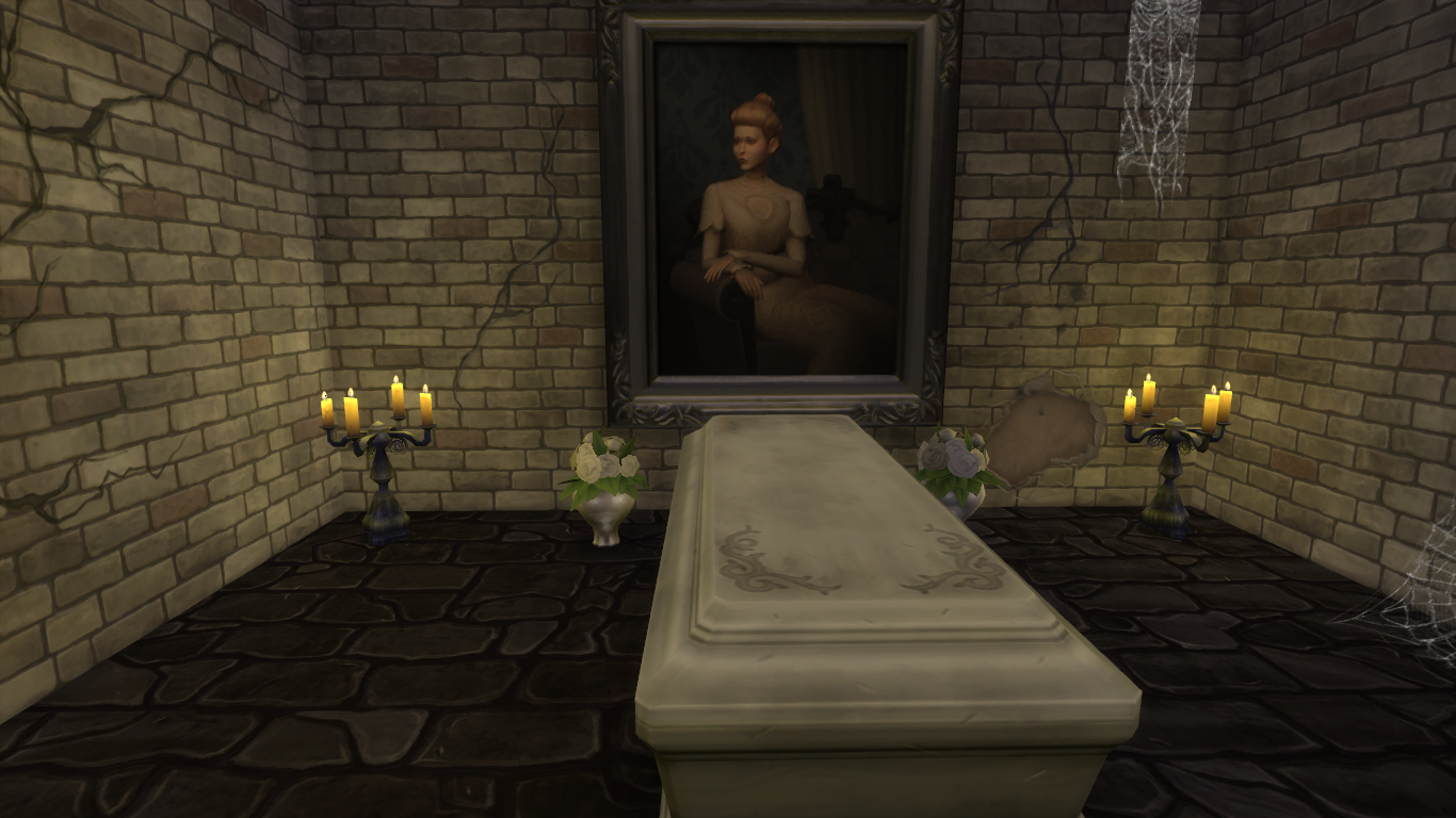 Making The Most Of Build Mode In The Sims 4 Vampires Simsvip - Make-your-room-look-like-a-vampires-room