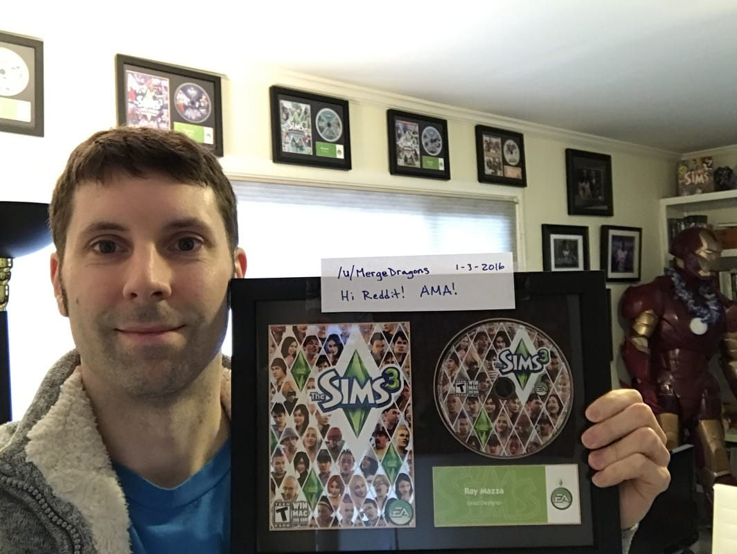 Former creative director of Maxis / The Sims hosts AMA on