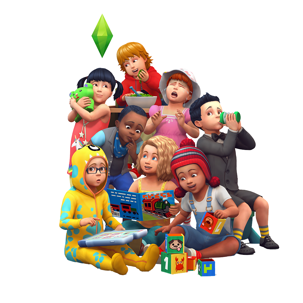 the sims 4 adds toddlers simsvip
