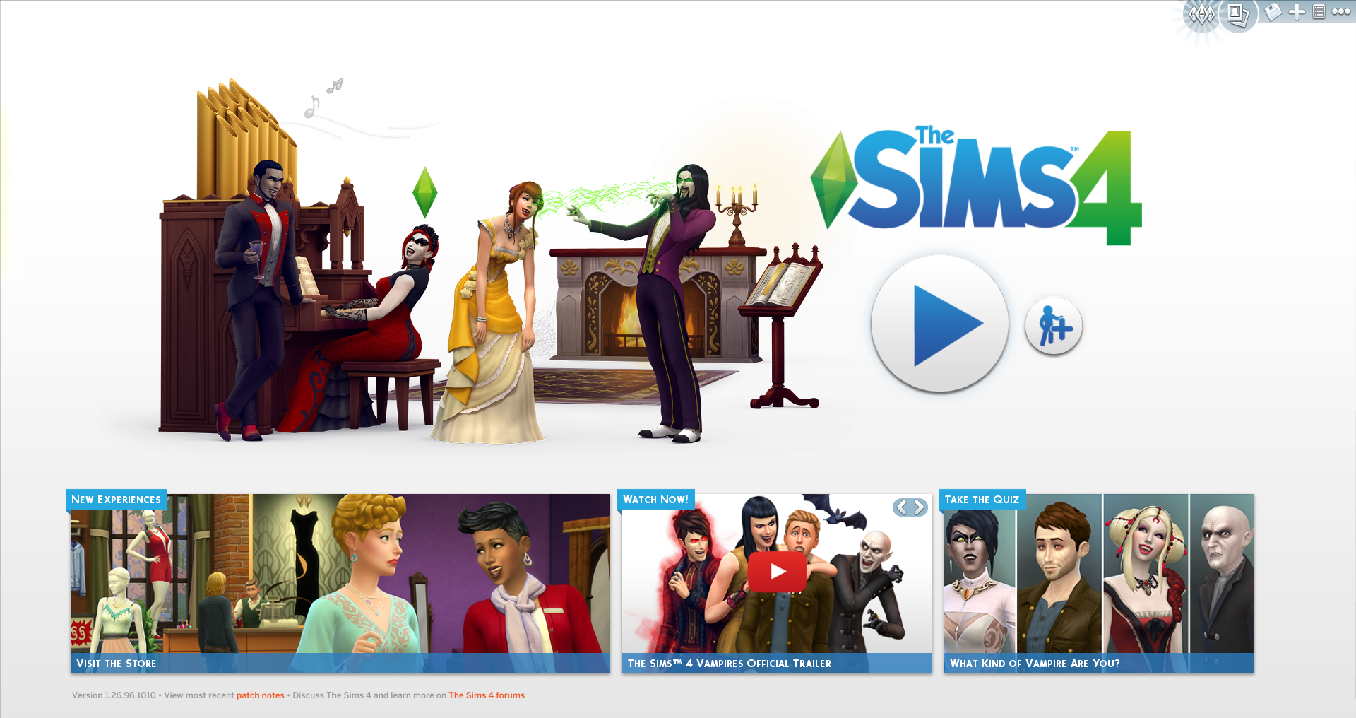 For Reference, Here Are Screenshots Of The Last Two Sims 4 Main Menu  Designs