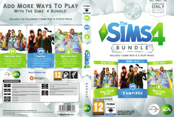 The Sims 4 Bundle Overview (Vampires, Kids Room & Backyard ...