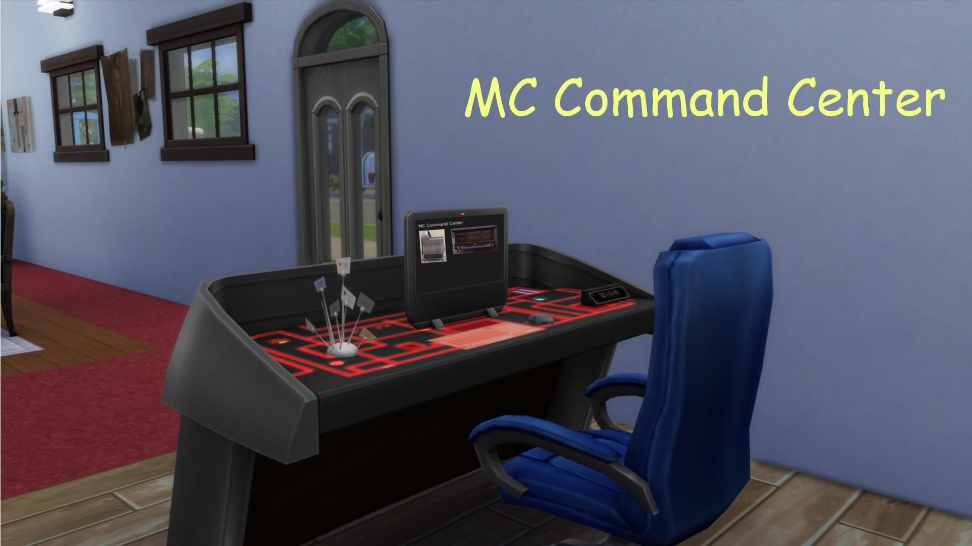 Command Center Furniture Design looking for mc command center? it has a new home! | simsvip