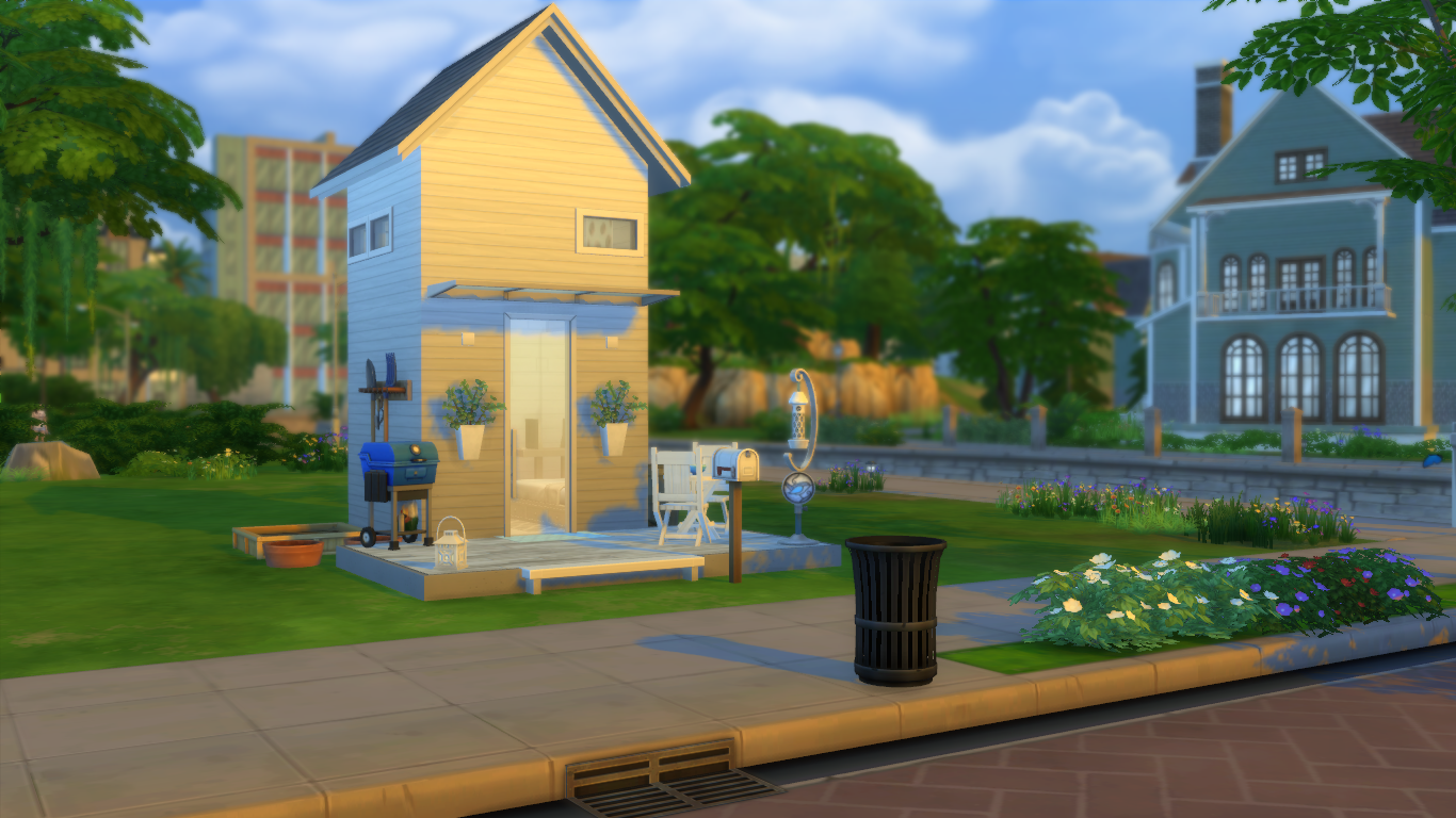 Tips For Building Tiny Houses In The Sims 4 Simsvip - sims 4 house design tips