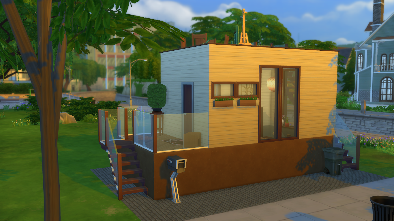 tiny house 8 - Get Small Sims 4 Tiny House Ideas PNG
