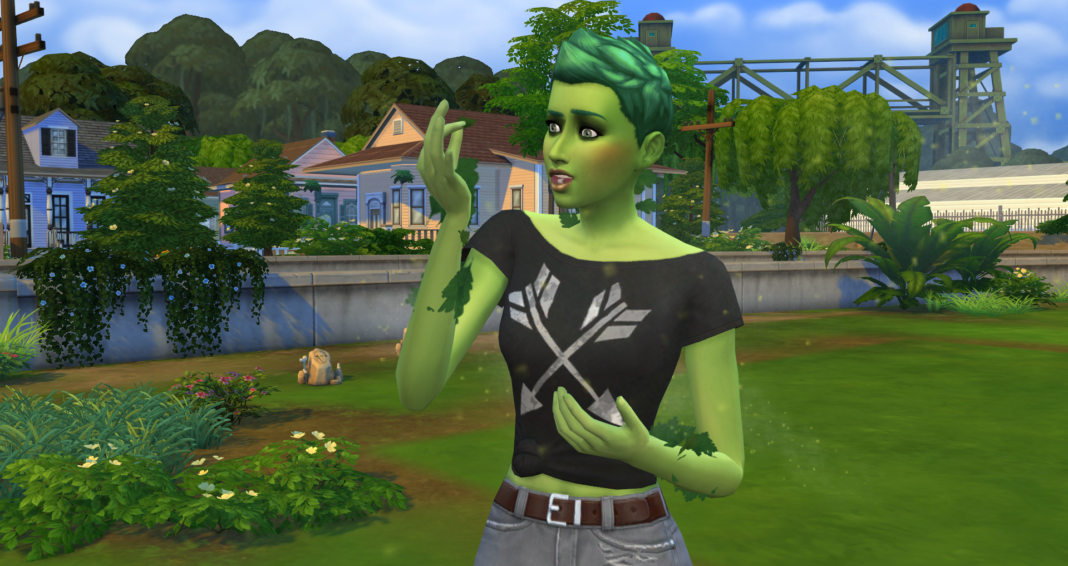 sims 4 how to make a baby change gender