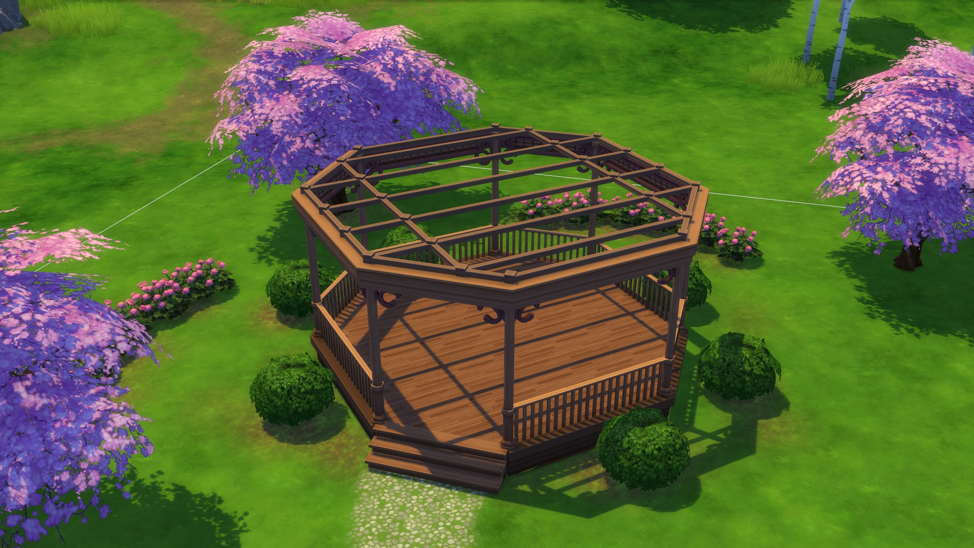 sims 4 gazebo. this was a very simple pattern and you can definitely play around with your own patterns as well to find something think is nice sims 4 gazebo m