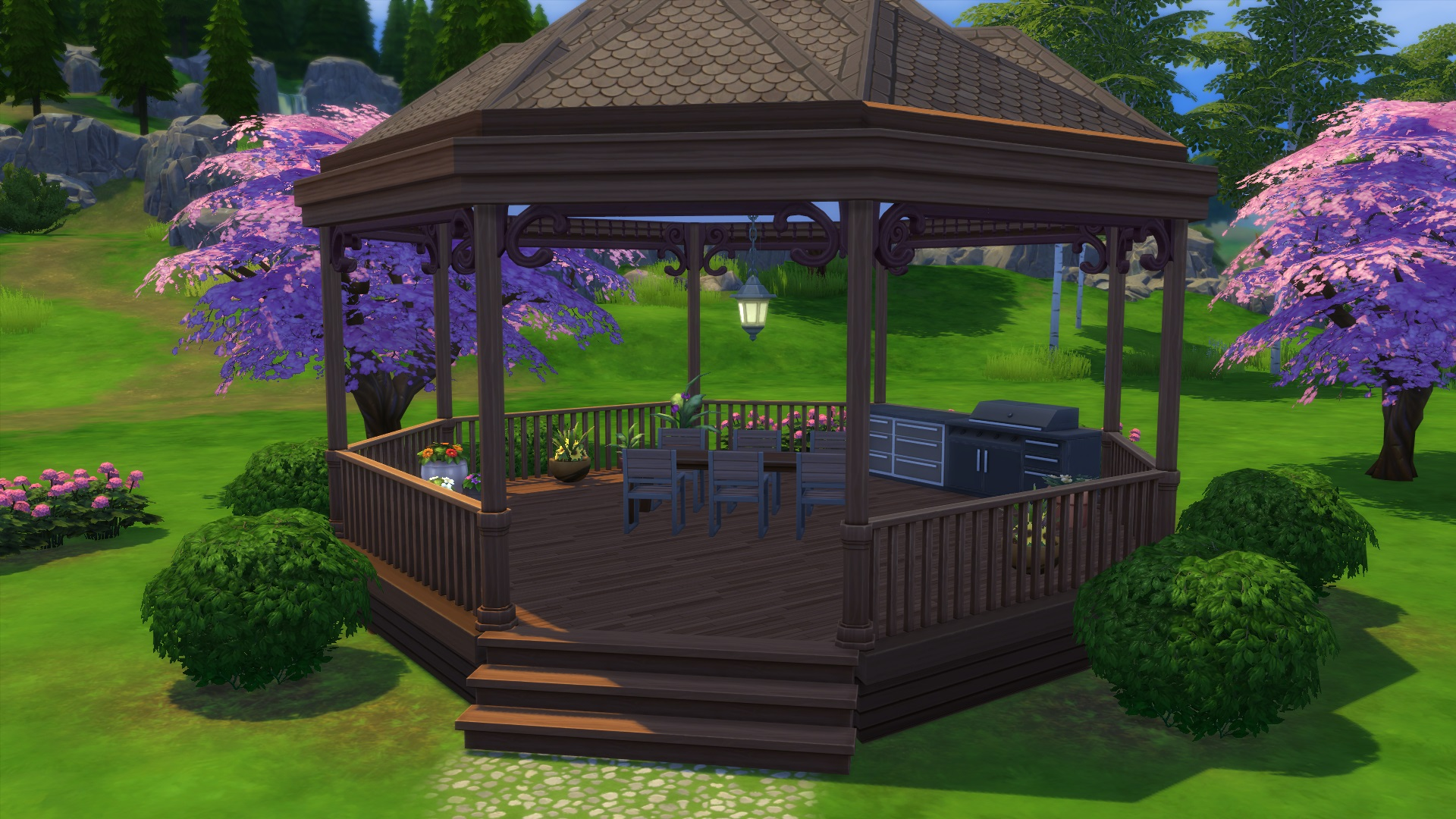 Sims  How To Build A Gazebo
