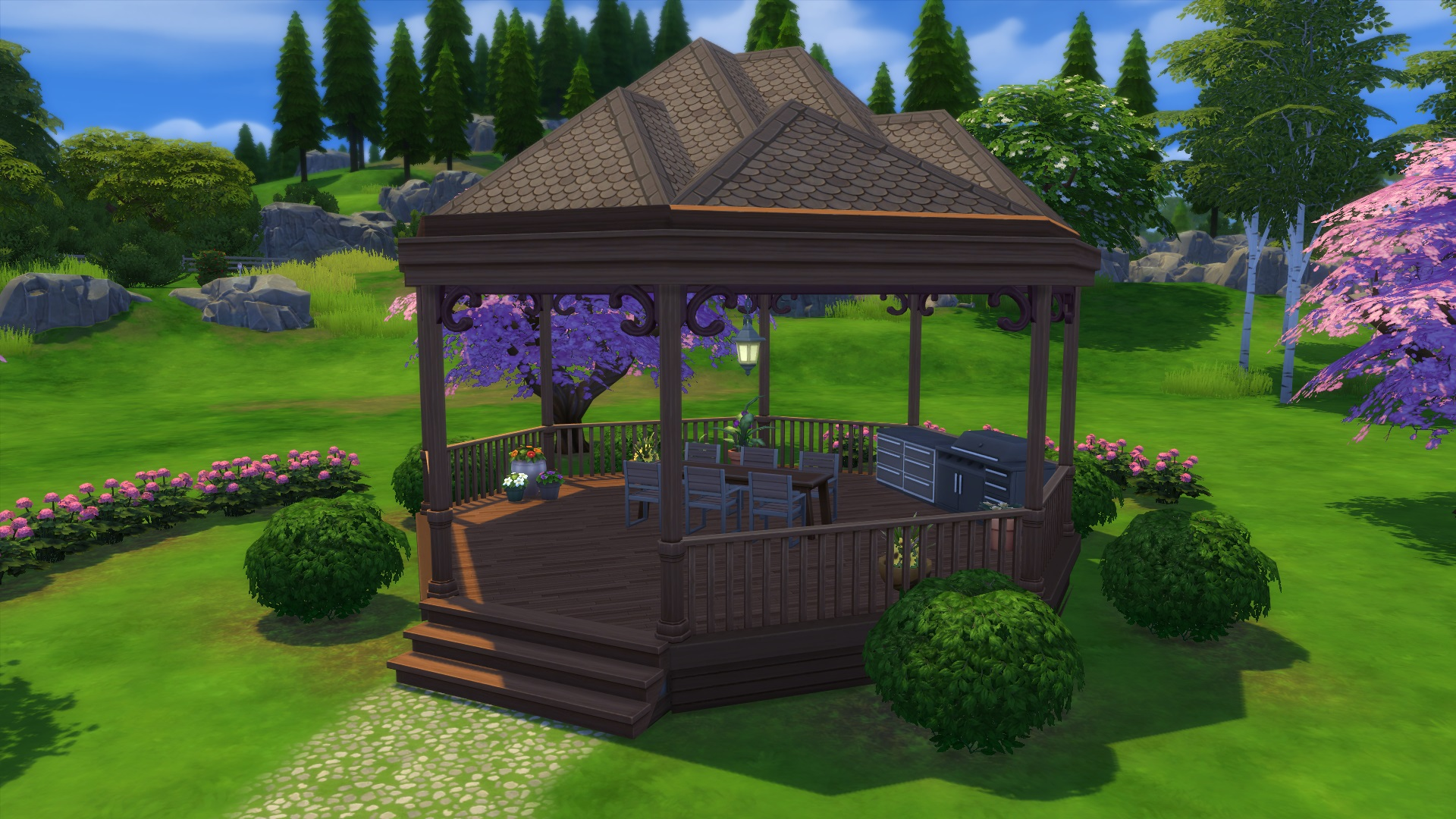 Tutorial How To Build A Gazebo In The Sims 4 Simsvip