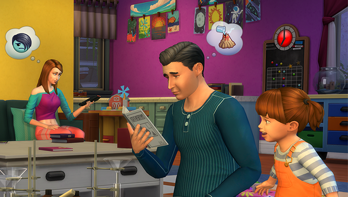The Sims 4 Parenthood And Kids Room Stuff Now Available For Console