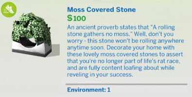 rolling stone gathers no moss expansion