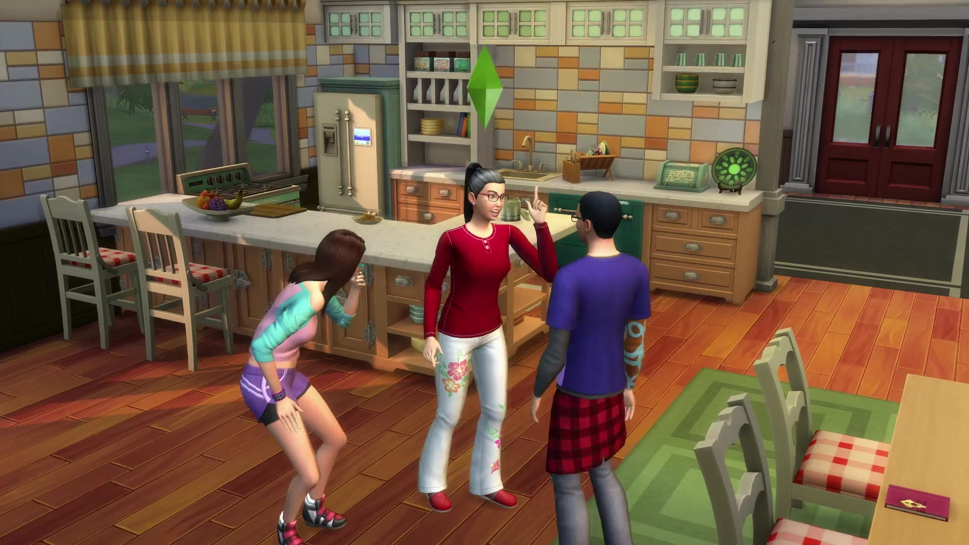 The Sims 4 Parenthood Game Pack 100 Trailer Screens