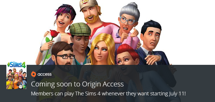 sims 3 origin access