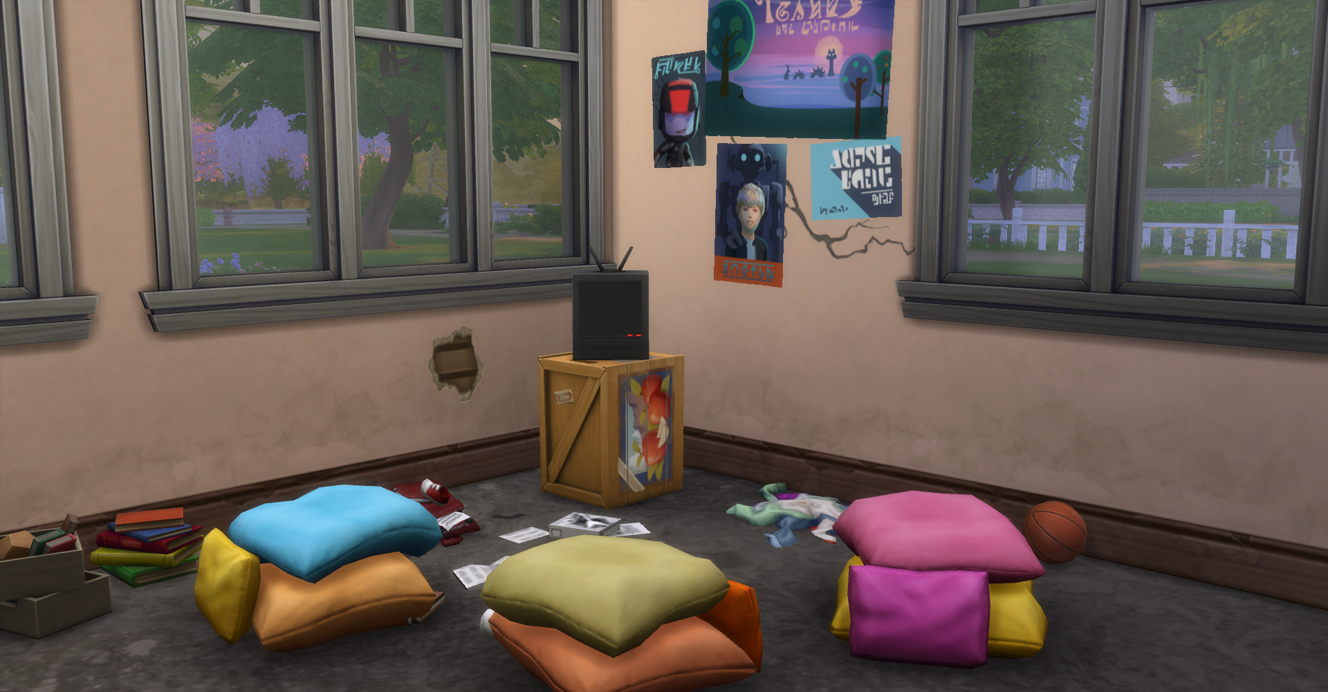 Inspiration Corner: Pillows Everywhere! SimsVIP