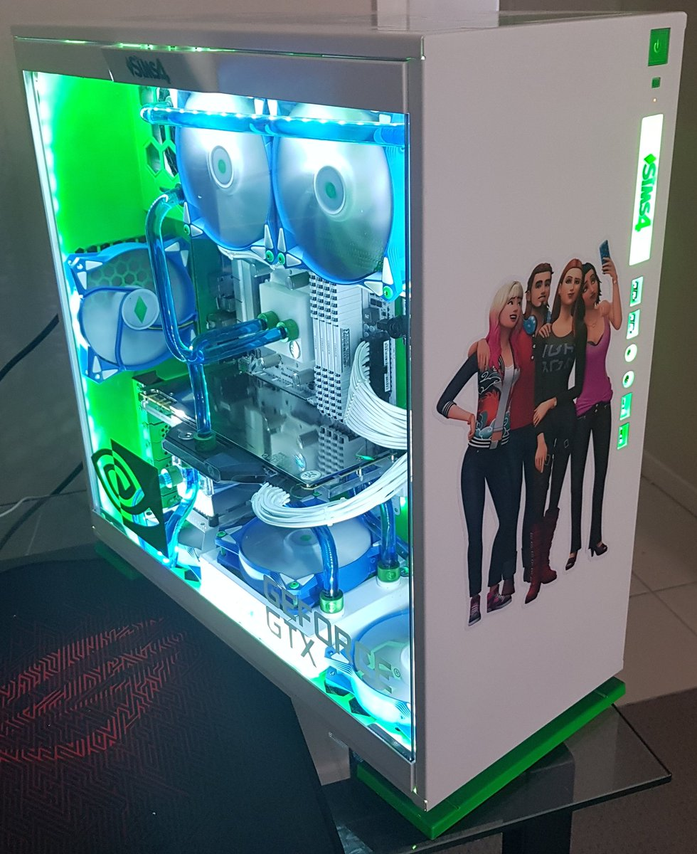 Check Out This Custom Built Sims 4 Themed Gaming PC | SimsVIP