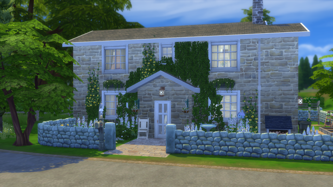 Building family homes in the sims 4 simsvip for Cottage homes to build