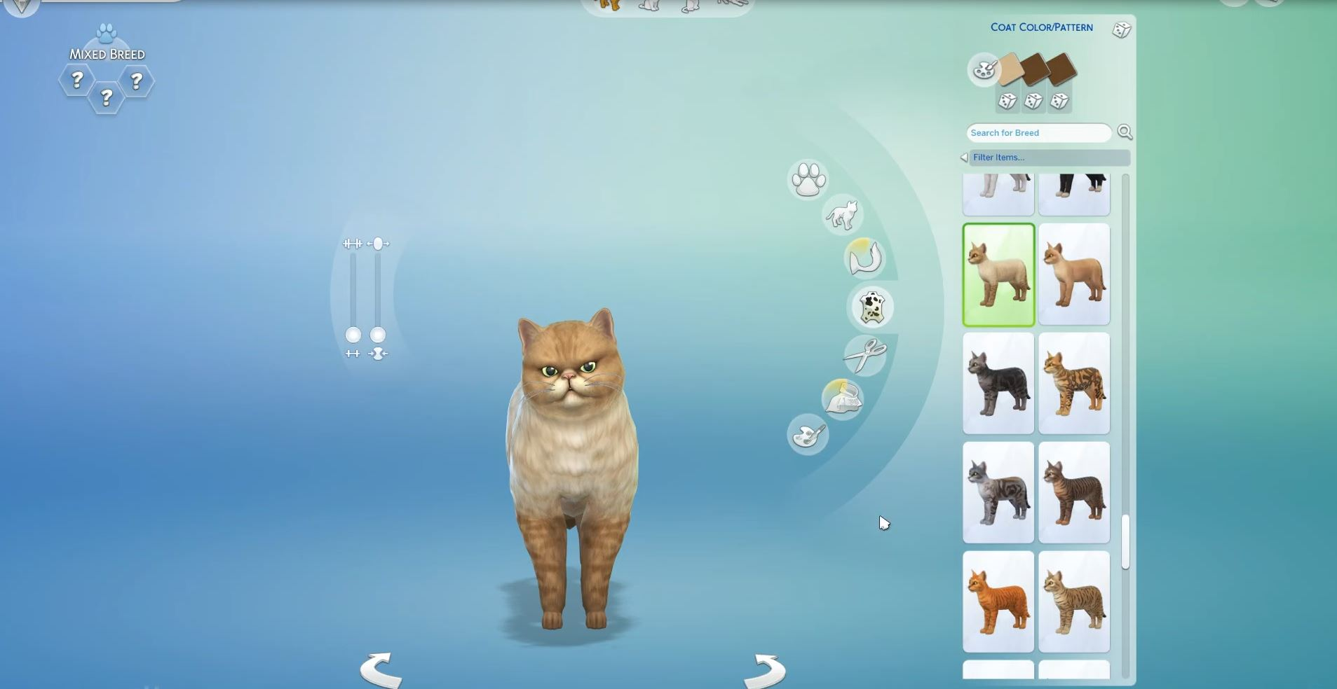 how to find your pet in the sims 4