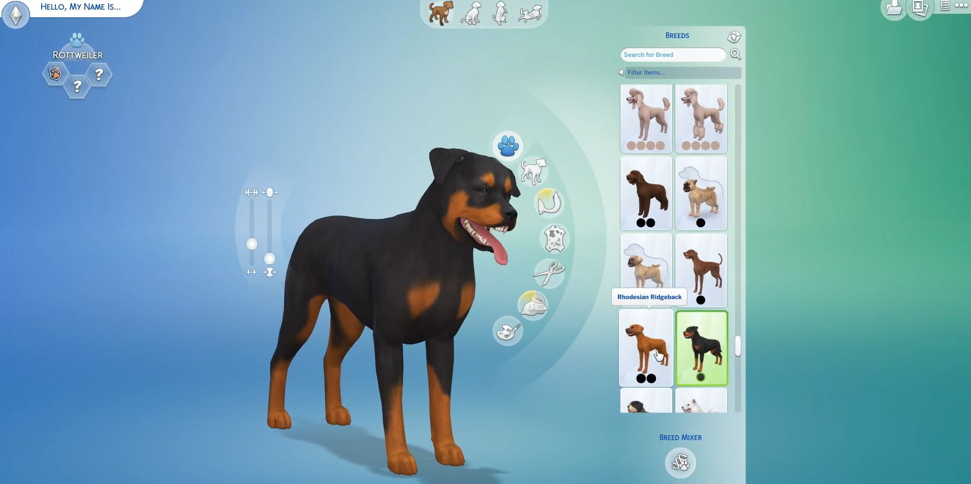 The Sims  Cats And Dog Breeds