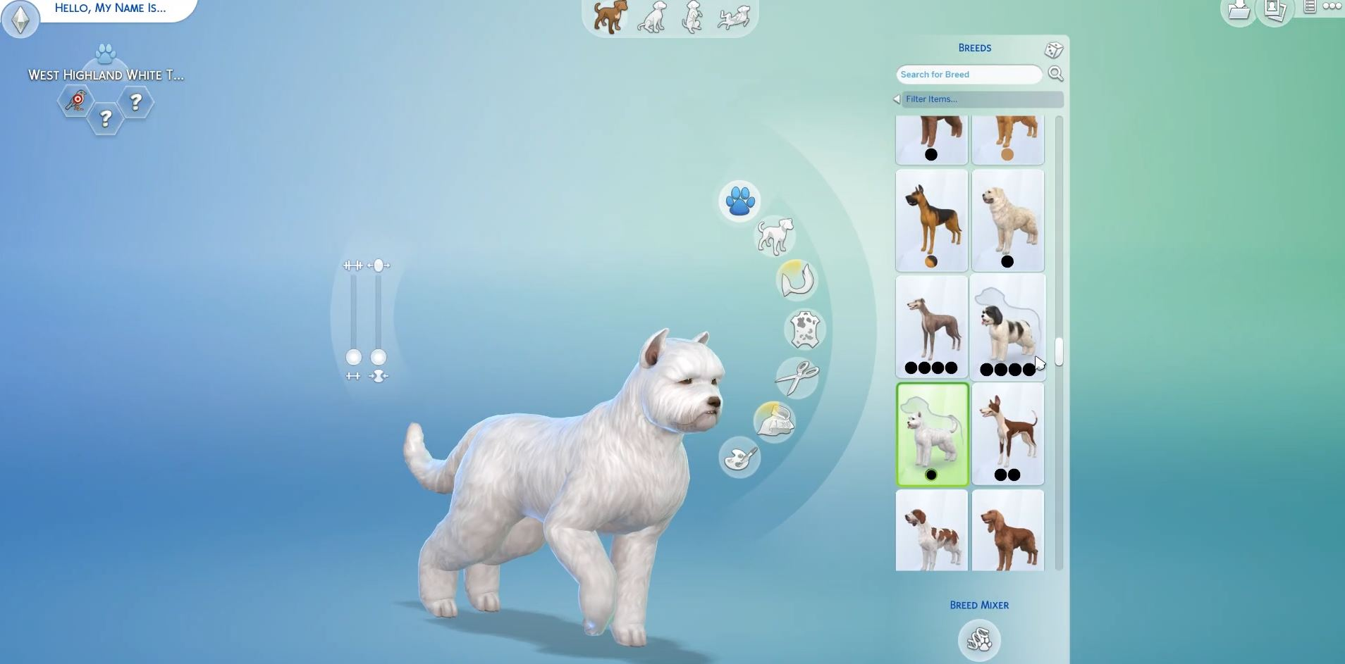 The Sims  Cats And Dogs Dog Breeds