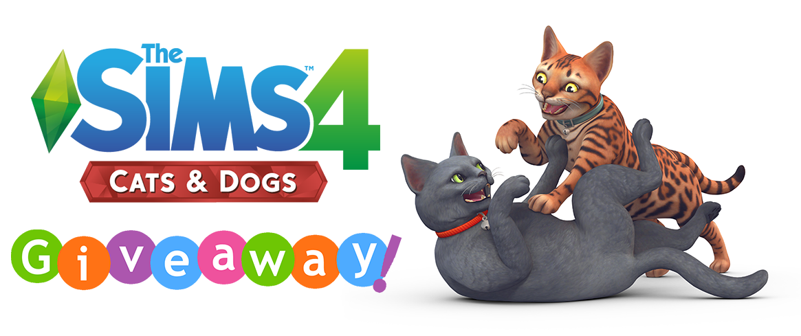 Sims  Cats And Dogs Giveaway Twitter