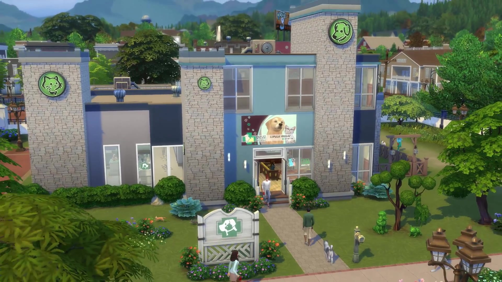 Sims  Cats And Dogs Vet Clinic