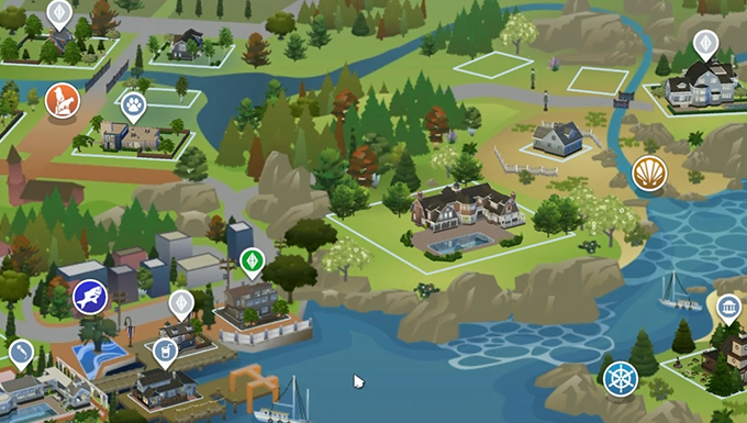 Cats And Dogs Sims  Brindleton Bay